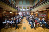 The audience in the Solvay Library during the Sci Tech Challenge event in Brussels