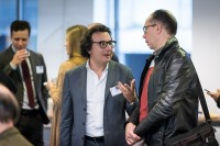 Guests talking to each other before the workshop event for EURADA starts