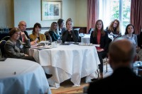 General overview of the room during a meeting for the EPF in Brussels