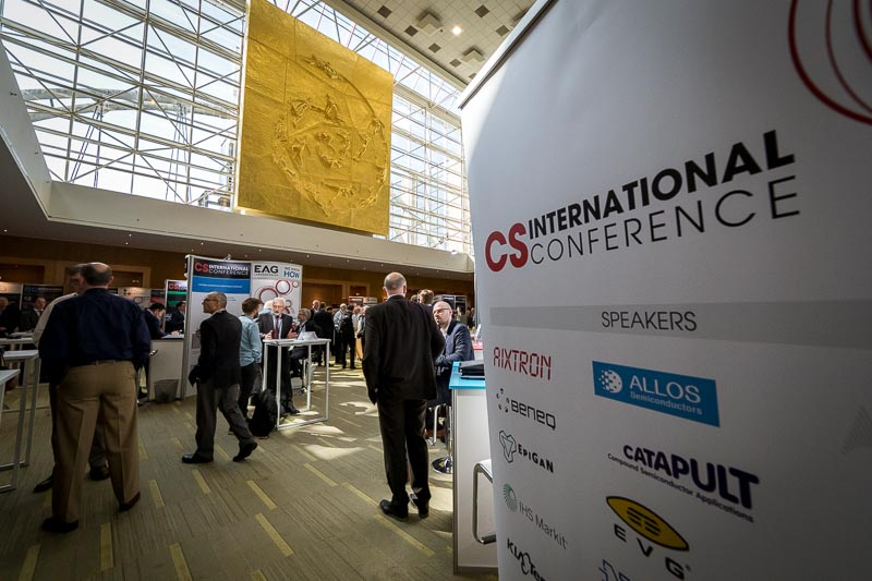 Entrance banner of the CS International Conference 2018