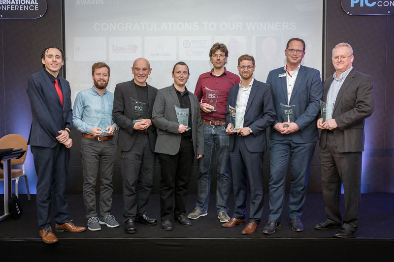 Award winners group picture during the CS International Conference 2018
