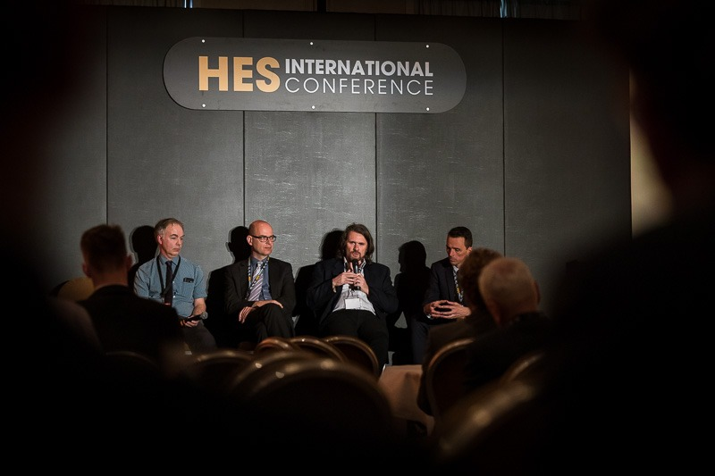 Discussion panel in the HES room during the CS International Conference 2018