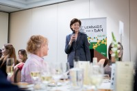 Caroline Jenner, CEO of JA Europe during Leaders for a Day 2018