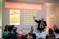 Larry Farrell author of Entrepreneurial Attitude during Leaders for a Day 2018