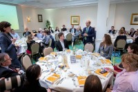 Overview of the dining room during Leaders for a Day 2018