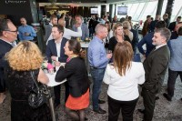 People networking during the Turkish Cargo Award Ceremony