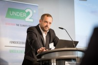 Lars Grotewold speaking during the Under2 Coalition conference in Brussels