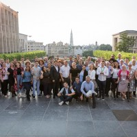 Group picture at Mont des Arts during the EHC Leadership Conference Day 2 in Brussels