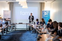 David LORENZO, Production Manager, FAMA, at the In4Wood Final Conference by EURADA, Brussels