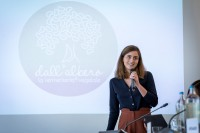 Giulia Dentice, CEO, Dall'Albero Srl, at the In4Wood Final Conference by EURADA, Brussels