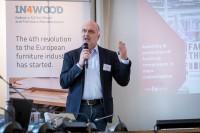 Peter VAN HOECKE, CEO, Van Hoecke nv, at the In4Wood Final Conference by EURADA, Brussels