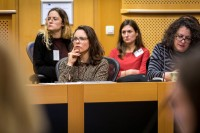Attendees listening during the Breaking Point - Solving the European Wildlife Rescue Crisis Conference