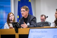 David van Gennep, CEO, AAA, during the Breaking Point - Solving the European Wildlife Rescue Crisis Conference