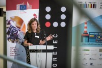 Lucilla Lanciotti, CEO Novafund, at the EURADA AGORADA 2018, Charleroi