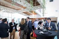 People networking during coffee break at the EURADA AGORADA 2018, Charleroi