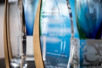 Awards closeup picture during the EURADA General Assembly 2018