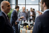 Coffee break before the event starts during the EURADA General Assembly 2018