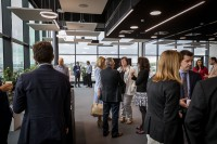 Networking coffee break before event starts during the EURADA General Assembly 2018
