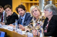 Hilde Vautmans, Member of the European Parliament, during the MCE Conference at the EU Parliament
