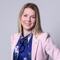 Portrait of Sara Heikkinen-Breitholtz for the European Parliamentary Forum in Brussels