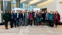 Group picture of the Social Economy Europe team during the Constitutive meeting of the Social Economy Intergroup