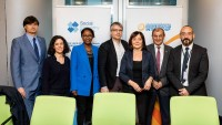 Several MEPs together for a group picture during the Constitutive meeting of the Social Economy Intergroup