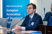 Bogdan Chelariu during the 2020 Brokerage Event for Innovation Agencies by EURADA