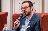 Jean Baptiste Chavialle, Uber, speaking during the discussion panel at the GC Summit Belgium 2020