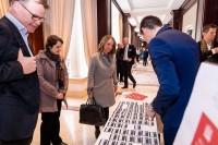 People registering at the beginning of the GC Summit Belgium 2020