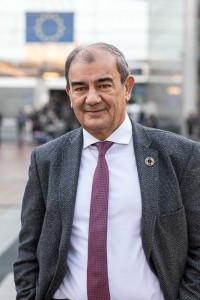 Portrait of Juan Antonio Pedreño for Social Economy Europe at the EU Parliament in Brussels