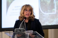 Astrid Schomaker gives a speech during the 9th meeting of the WGECC in Brussels