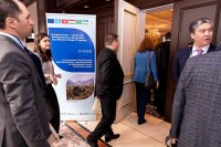 Attendees entering the conference room during the 9th meeting of the WGECC in Brussels