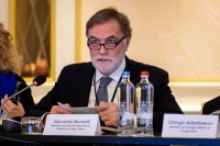 Giovanni Brunelli speaking during the 9th meeting of the WGECC in Brussels