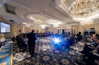 View of the room at the steigenberger wiltcher's during the 9th meeting of the WGECC in Brussels